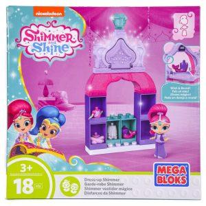 Shimmer and Shine: Dress Up Shimmer (18 piece) Mega Bloks Set