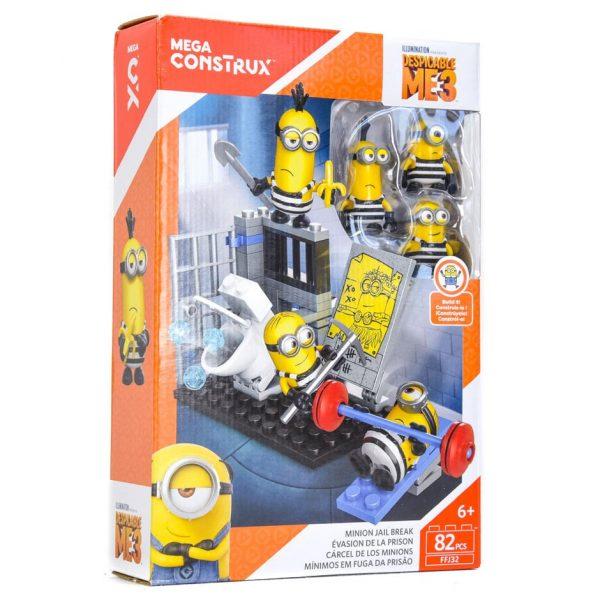 Minions Mega Construx Jail Break 82 Piece Set