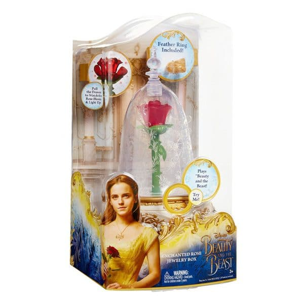 Beauty and the Beast: Enchanted Rose Jewelry Box