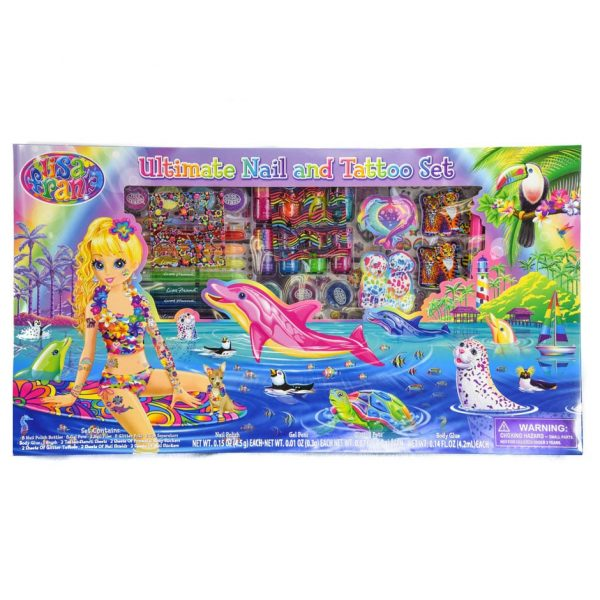Lisa Frank Ultimate Nail and Tattoo Set