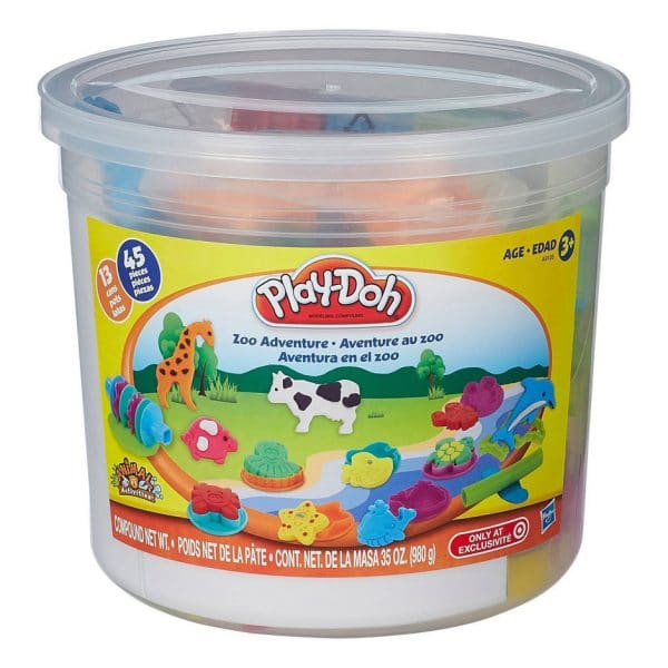 Play-Doh Zoo Adventure 45 Piece Tub