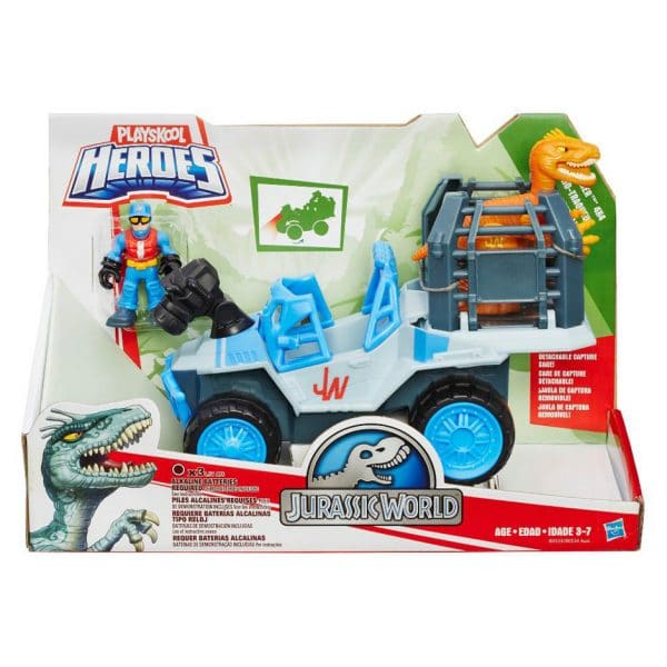 Playskool Heroes Jurassic World Dino Tracker 4 x 4
