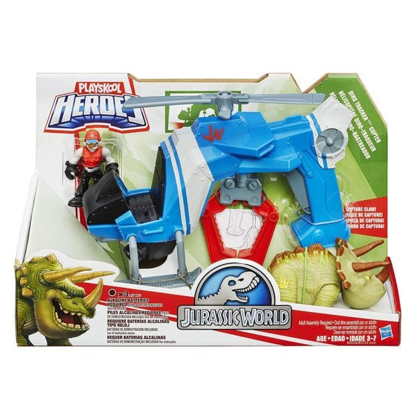 Playskool Heroes Jurassic World Dino Tracker Copter