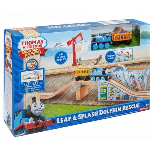 Thomas & Friends Wooden Railway: Leap & Splash Dolphin Rescue