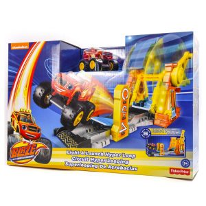 Blaze and the Monster Machines: Light and Launch Hyper Loop Playset