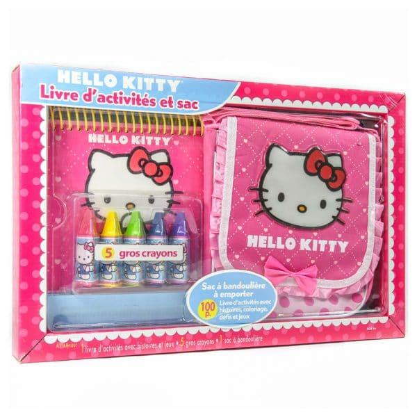 Hello Kitty: Livre d'activités et sac (FRENCH)
