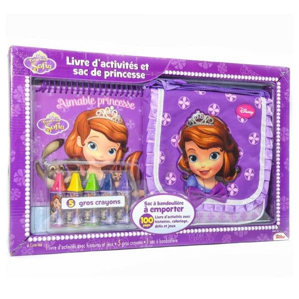 Princesse Sofia: Livre d'activités et sac de princesse (FRENCH)