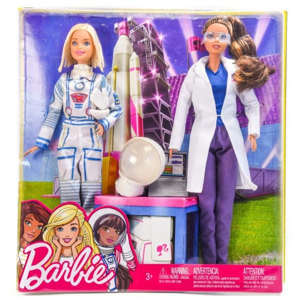 Barbie Career Astronaut and Space Scientist (2 Doll) Playset