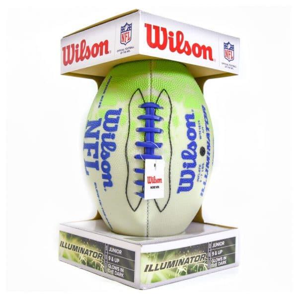 Wilson Illuminator Glow in the Dark Junior Football