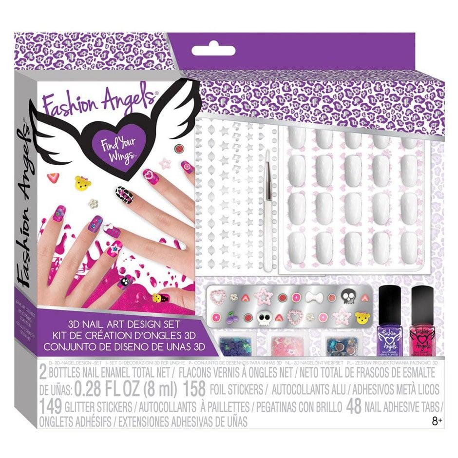 Fashion Angels: 3D Nail Design Set | Samko and Miko Toy Warehouse