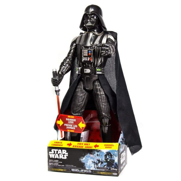 "Star Wars Darth Vader 20"" Deluxe Big-Figs with Lighsaber Action"