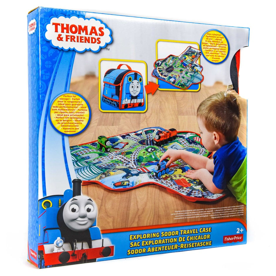 Thomas Amp Friends Exploring Sodor Travel Case Samko And