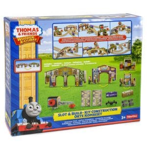 Thomas & Friends Wooden Railway: Slot & Build Kit Construction Accessory Pack