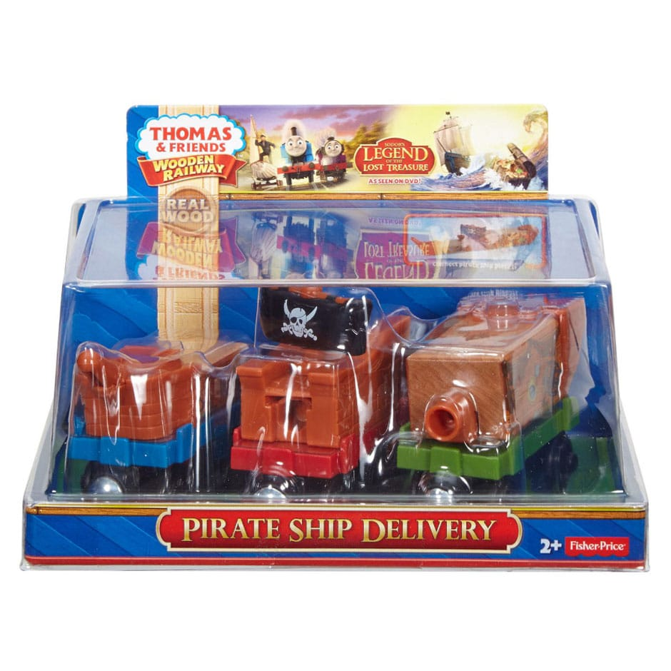 Thomas Friends Wooden Railway Pirate Ship Delivery