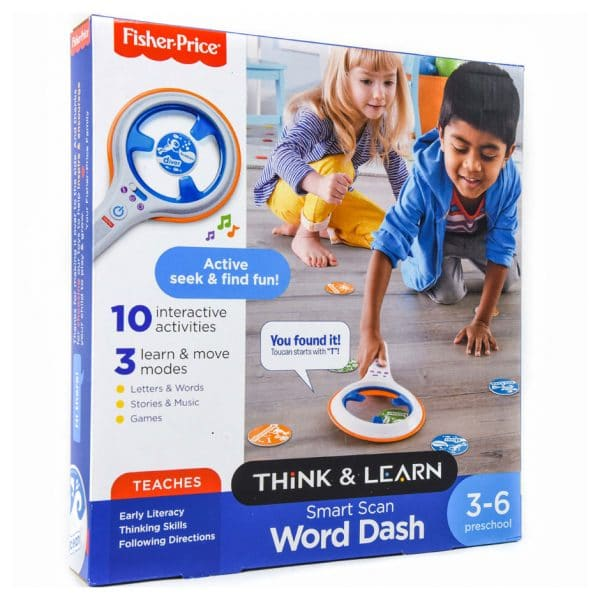 Fisher-Price Think & Learn Smart Scan Word Dash