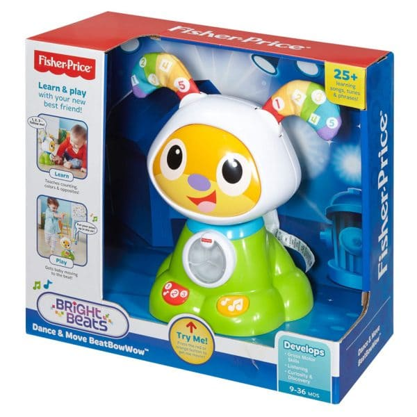 Fisher-Price Dance & Move Beat Bow Wow
