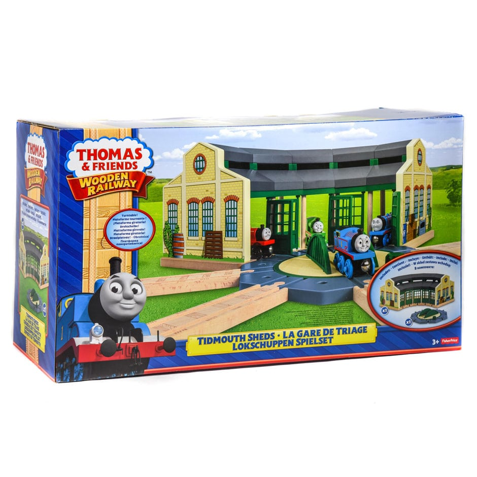 Thomas The Train Tidmouth Shed Wooden - Best Train 2018