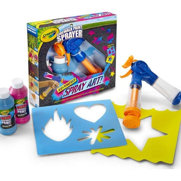 Crayola Washable Sidewalk Paint Spray