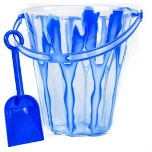 "9"" Marble Design Pail & Shovel"