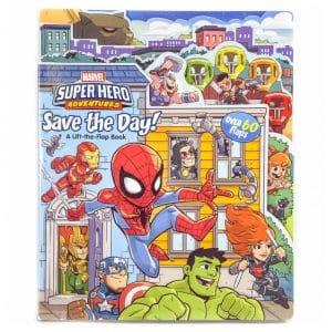 Marvel Super Hero Adventures Lift-The-Flap Book
