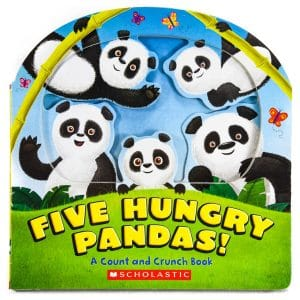 Five Hungry Pandas