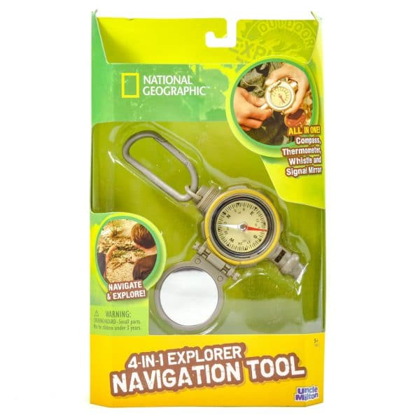 National Geographic 4 in 1 Explorer Navigation Tool