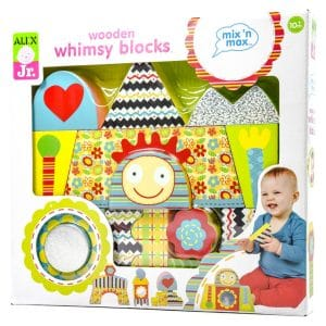 Alex Jr. Wooden Whimsy Blocks