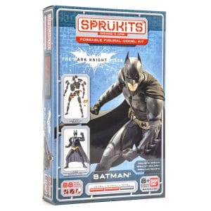 Sprukits Batman: The Dark Knight Posable Figure (88 Piece) Model Kit