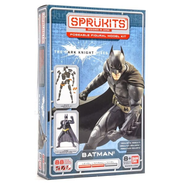 Sprukits Batman: The Dark Knight Posable Figure (88 Piece) Model Kit
