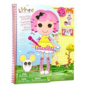 Lalaloopsy Giant Coloring Portfolio