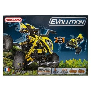 Meccano Evolution Quad ATV (205 Parts) Set