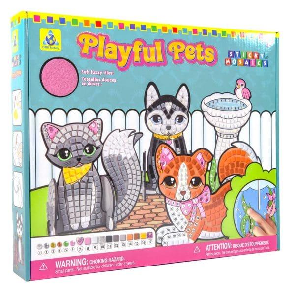 Playful Pets Sticky Mosaics