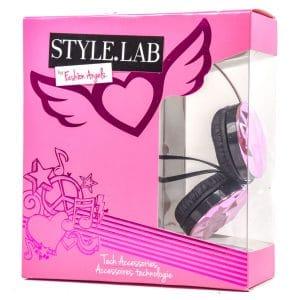 Fashion Angels Style Lab Pink Jewel Headphones