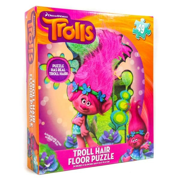 Trolls Hair Floor Puzzle