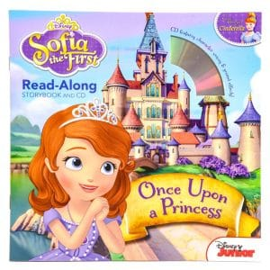 Sofia the First: Once Upon a Princess Read-Along Storybook and CD