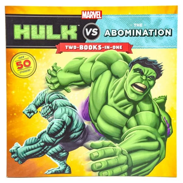 Hulk vs The Abomination & Hulk vs Wolverine (2-BOOKS-in-1)