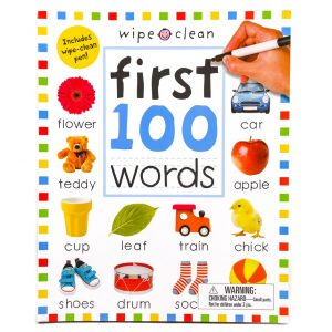 First 100 Words (with Wipe Off Pen)