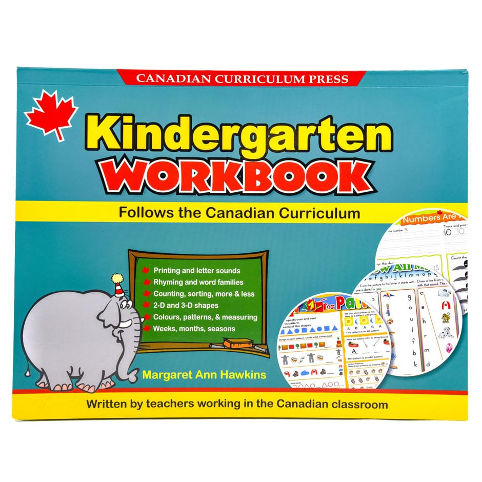 Canadian Curriculum Press Floorpad Workbook Series: (Kindergarten ...