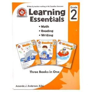 Canadian Curriculum Press Workbook Series: (Grade: 2) Learning Essentials (3-BOOKS-IN-1)