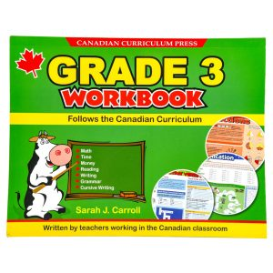 Canadian Curriculum Press Floorpad Workbook Series: (Grade 3)
