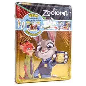 Zootopia Activity Tin