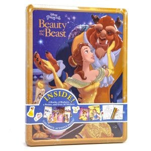 Beauty and the Beast Activity Tin