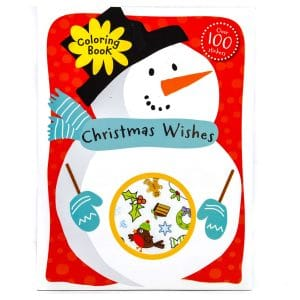 Christmas Wishes Coloring Book