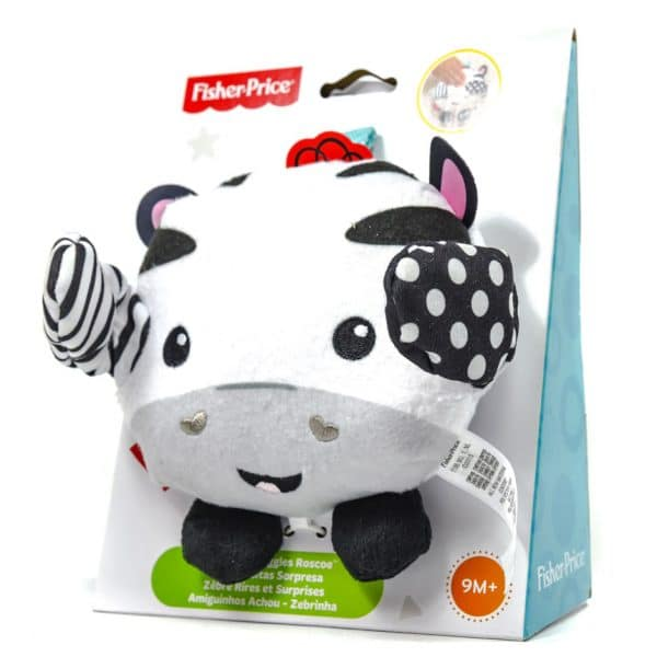 Fisher-Price Peek a Boo Giggles: Roscoe the Zebra 1