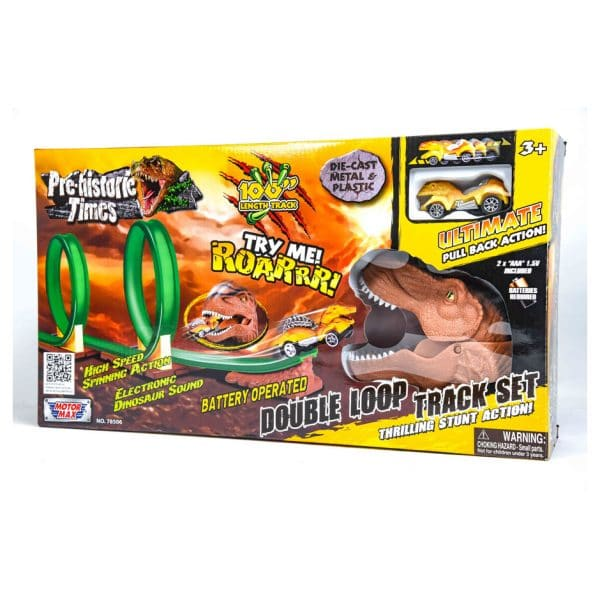 Pre-historic Times Double Loop Track Set