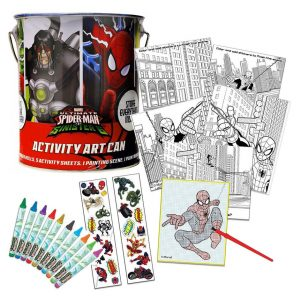 Spiderman Activity Art Can