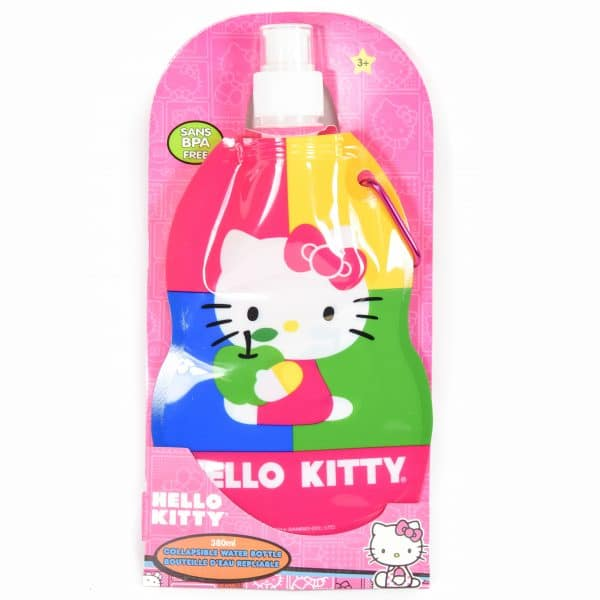 Hello Kitty Collapsible Water Bottle