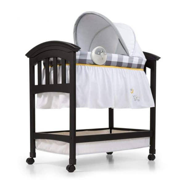 Summer Infant Classic Comfort Wood Bassinet (Buffalo Check Collection)