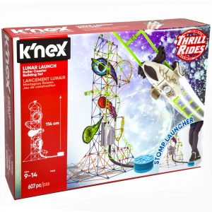 K'nex Lunar Launch Roller Coaster