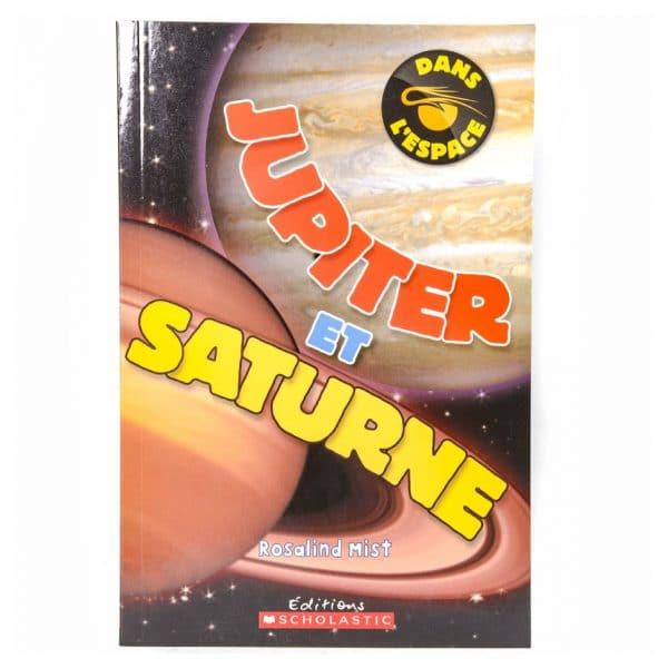 Dans l'espace : Jupiter et Saturne